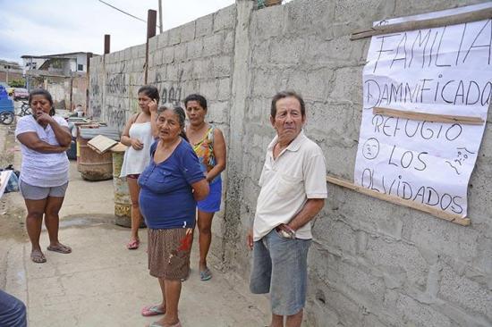 Prometen obras de reconstrucción en tres semanas en Tarqui y Los Esteros