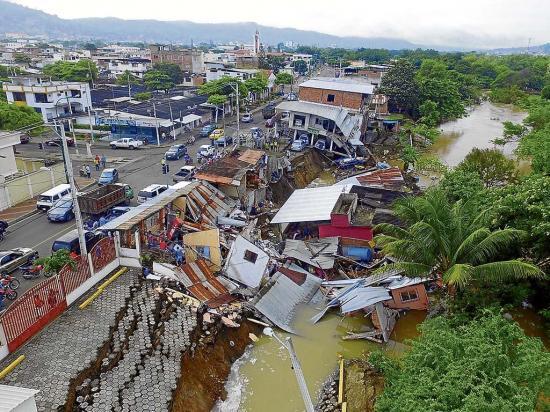 El suelo perdió resistencia por el terremoto