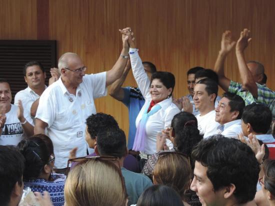 Reelectos el rector y  la vicerrectora en la  Universidad del Sur