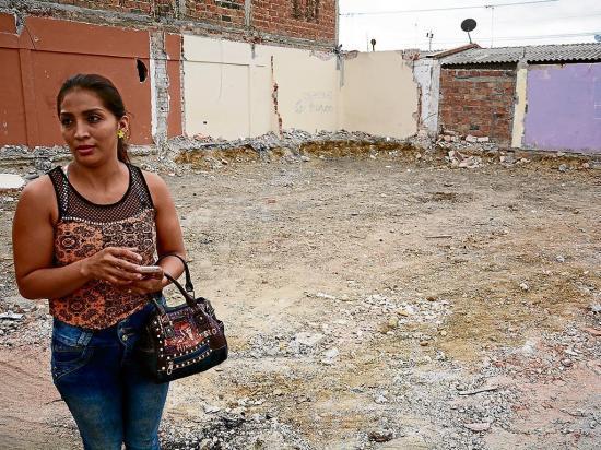 Terremoto acabó  con viviendas  recién compradas