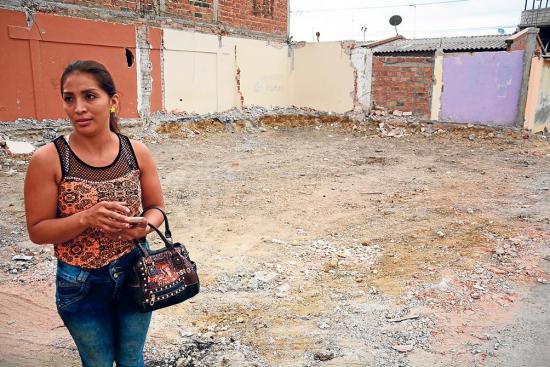 Casas, inversión que fue destruida