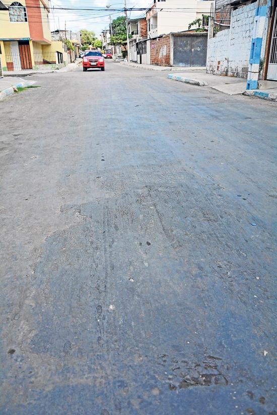Preocupación por estado de calles