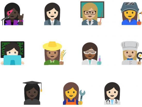 Google lanzará emojis en favor de la igualdad de género