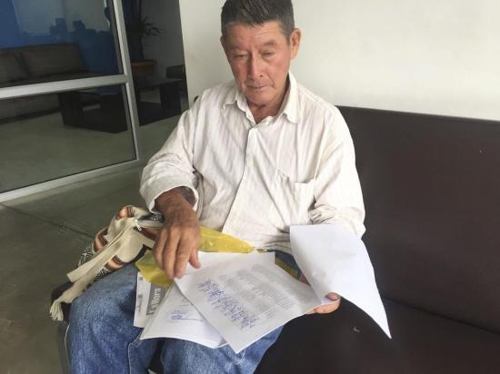 En la comunidad  Puerta de Oro piden que se reabra la escuela