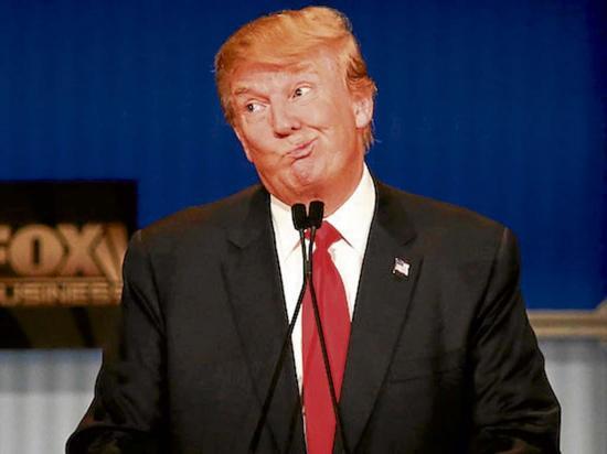 Encuestas en contra de Trump