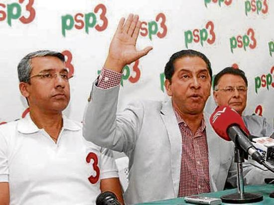 PSP tiene cinco precandidatos