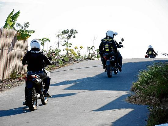 Agente herida en accidente ocurrido en Montecristi