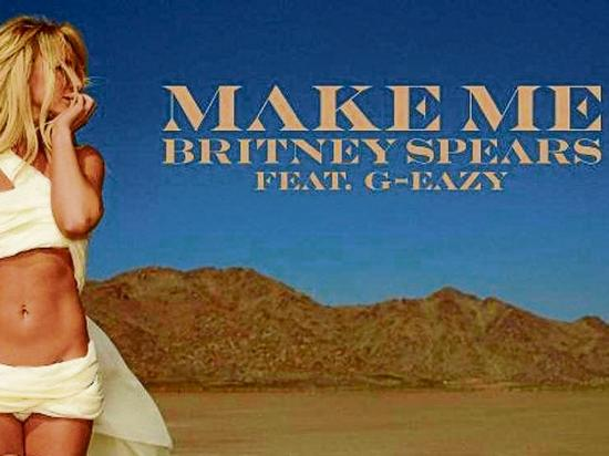 Britney Spears lanza 'Make me'