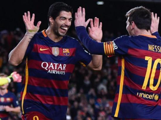Messi y Suárez entre los  nominados