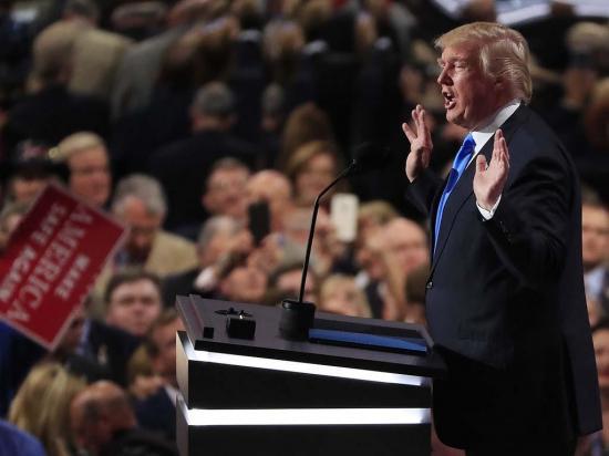 Trump es el candidato de los republicanos