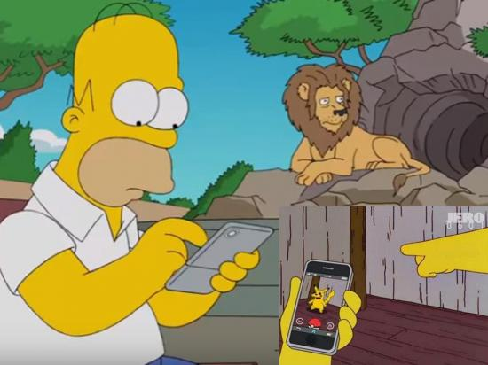 Pokémon llega también a Springfield