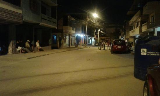 Un sismo de 5,3 grados asustó anoche a Manabí