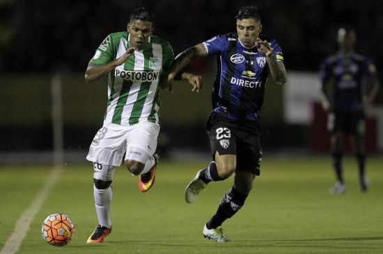 Independiente del Valle y Atlético Nacional empatan 1-1 y continúa el sueño de ser campeones