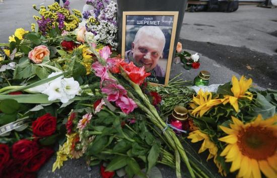 El periodista Pável Sheremet muere tras la explosión de una bomba en su carro