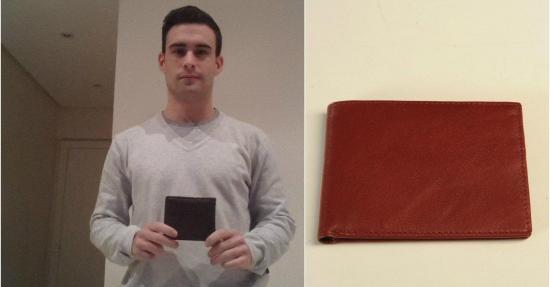 Joven de 22 años crea una billetera antirrobo que venderá en EE.UU.