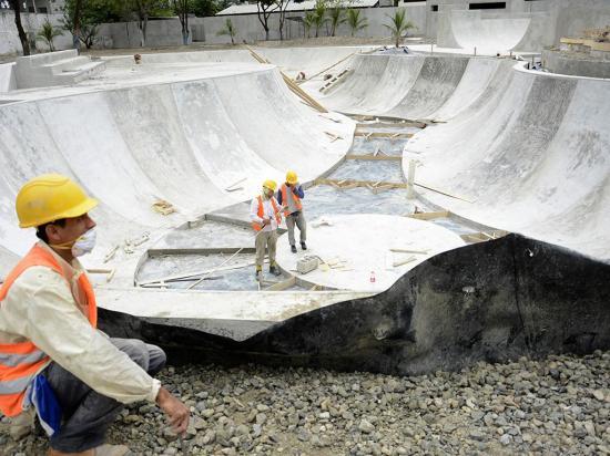 """15 por ciento de avance en """"la  nueva Rotonda"""""""
