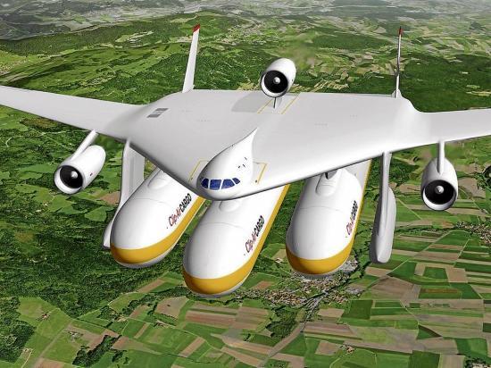 El avión desarmable