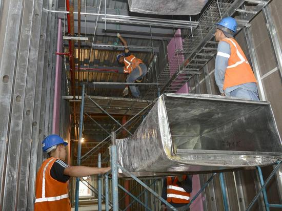 Hospital de Especialidades estará terminado en enero