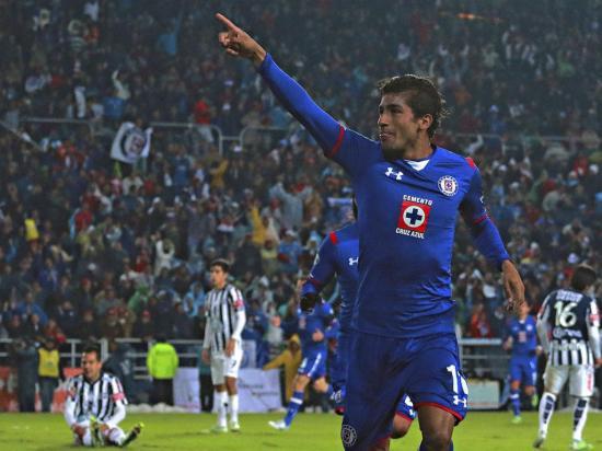 Joao Rojas anotó con el Cruz Azul