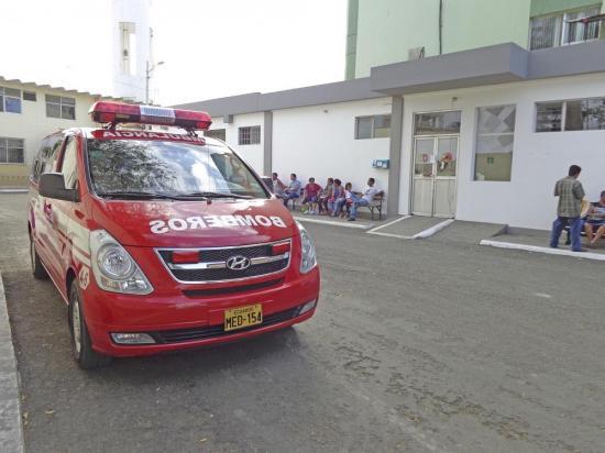 Un motociclista resulta herido en accidente de tránsito en Manta