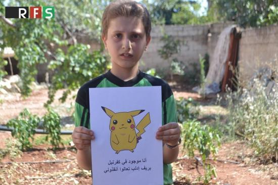 Niños sirios piden ayuda a la comunidad internacional a través de Pokémon Go