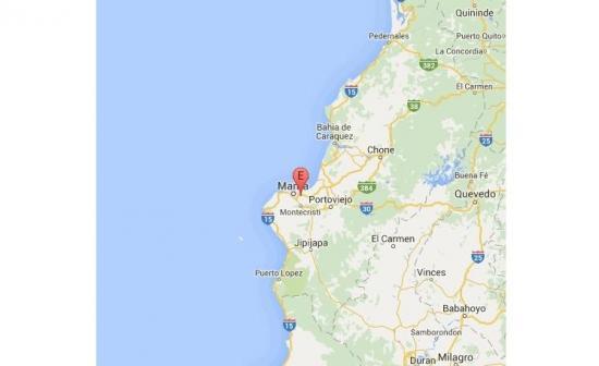 Un sismo de 5 grados despierta a Manabí