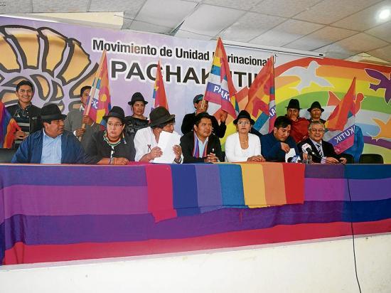 En agosto Pachakutik decidirá precandidato a la presidencia