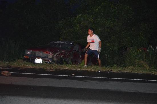 Tres heridos en choque de carros