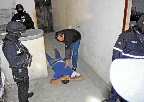 4 detenidos en 15 días
