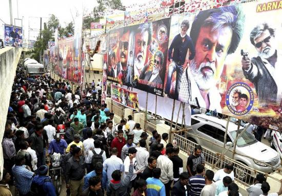 Una película de Kollywood desata la histeria en la India
