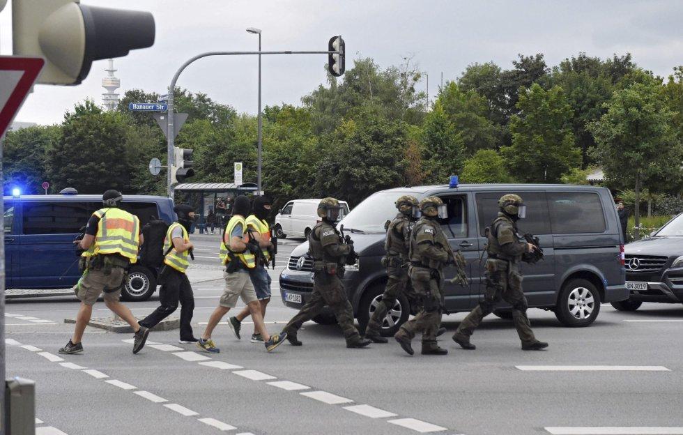 Tiroteo en un centro comercial de Múnich deja varios muertos