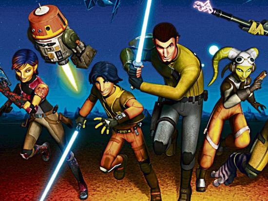 ¡Vuelve Star Wars rebels!