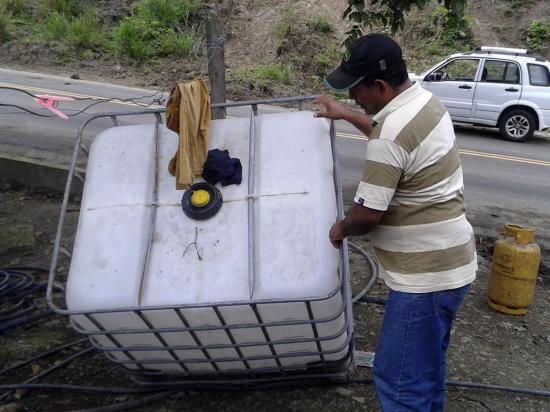 En el Guayuso están sin agua potable