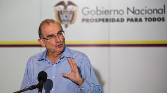 Gobierno colombiano pide a las FARC no insultar al expresidente Uribe