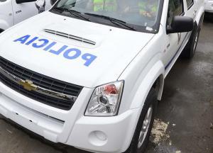 Un muerto y tres heridos tras choque en la vía 24 de Mayo-Noboa