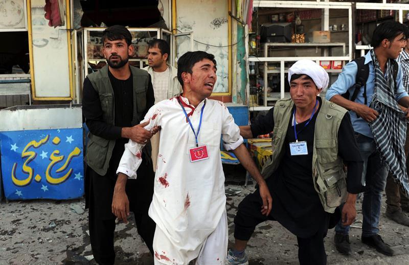 Al menos 80 muertos y más de 200 heridos tras atentado en Kabul