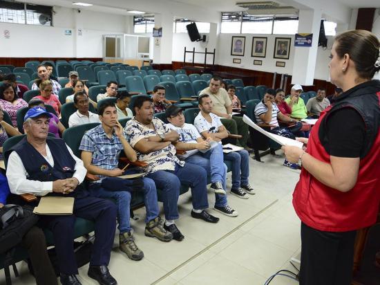 120 asistentes en la  escuela de líderes de  personas con discapacidad