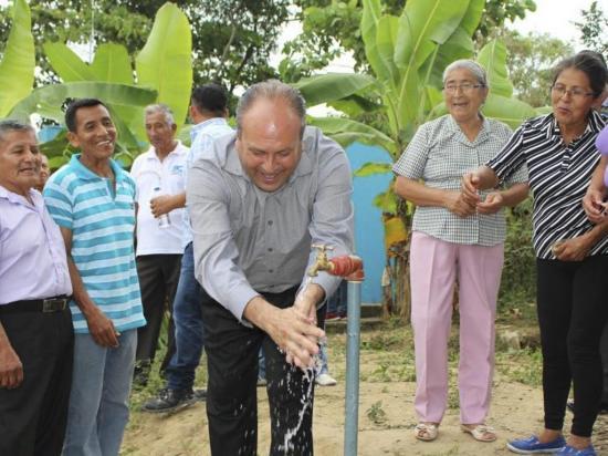 La Unión ya  cuenta con  agua entubada