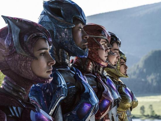 """Los rostros de los """"Power Rangers"""""""
