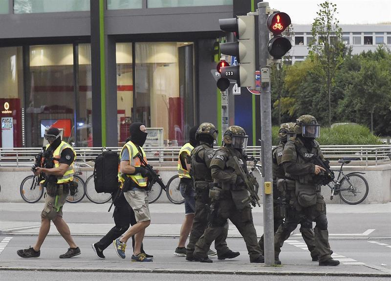 Detenido un amigo de 16 años del autor del tiroteo de Múnich