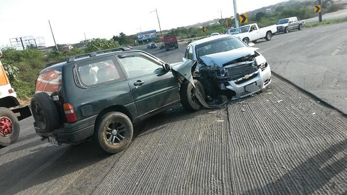 Accidentes en dos cantones
