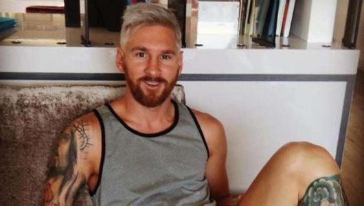 Cambio de look de Messi sorprende en las redes sociales