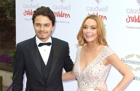 Lindsay Lohan acusa a su novio de querer matarla