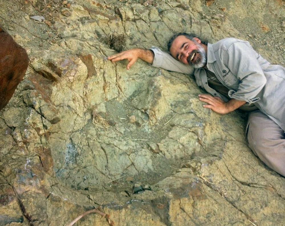 Hallan mayor huella de un dinosaurio carnívoro en sur de Bolivia