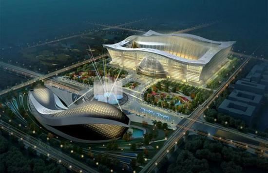Global Center: el edificio más grande del mundo está en la China profunda