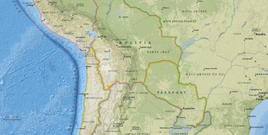 Temblor de 4,8 grados sacude Santiago de Chile y regiones vecinas