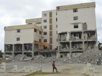 Fin al contrato de demolición del hospital de Chone
