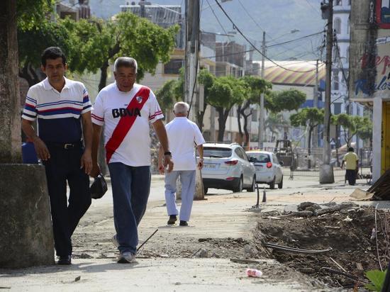 Ya se puede pasar por la calle Alajuela