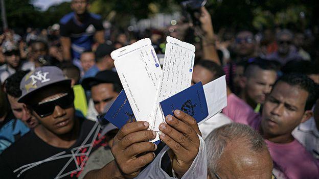 CIDH expresa preocupación por el trato a inmigrantes cubanos en Ecuador