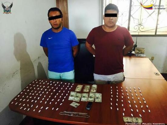Prisión por tráfico de droga
